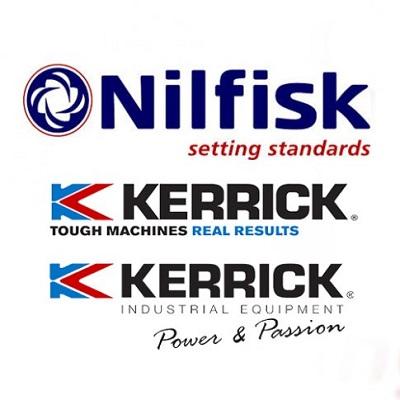 اسکرابر - واترجت - جاروبرقی - پیوستن Kerrick به Nilfisk