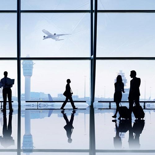 فرودگاهی تمیز با اسکرابر صنعتی فرودگاه