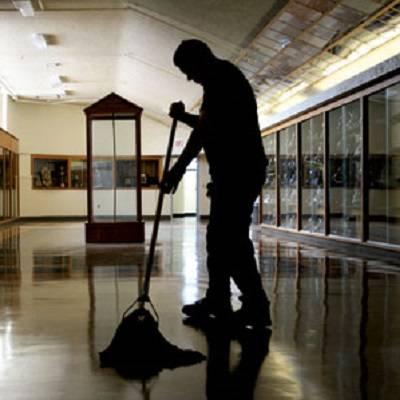 شرکت های خدماتی  - Contract cleaners