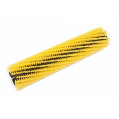 برس غلطکی نایلونی نرم زرد scrubber-dryer-cylindrical-brush-soft-nylon-yellow