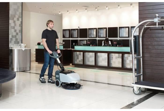 اسکرابر SC351 برای کاربرد در لابی هتل بعنوان یک کفشور کارآمد