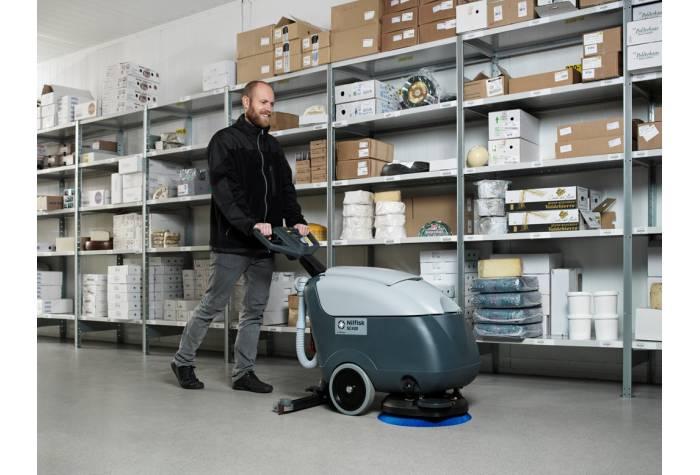 کاربرد دستگاه کف شوی SC400 برای عملیات نظافت صنعتی سبک و متوسط
