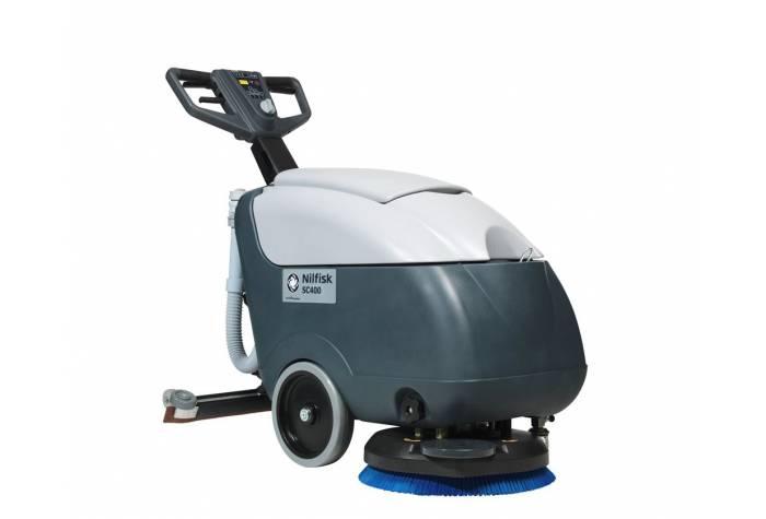دستگاه اسکرابر،کف شوی و زمین شوی SC400 با دسته بسیار کارآمد