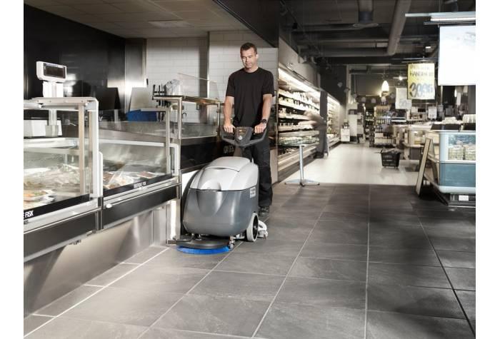 دستگاه کفشور و اسکرابر SC400 برای شستشوی زیر میز و کانتر