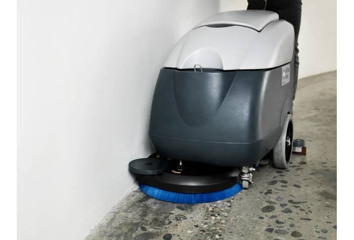 دستگاه اسکرابر صنعتی و کف شو برای شستشوی موثر کناره دیوار