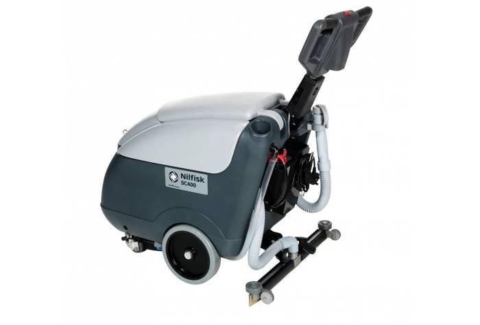 دستگاه اسکرابر SC400E از پشت