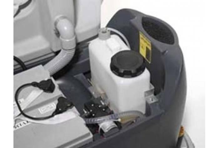 سیستم ecoflex برای کنترل شار آب و ماده پاک کننده و بهینه کردن میزان مصرف و افزایش کیفیت شستشو