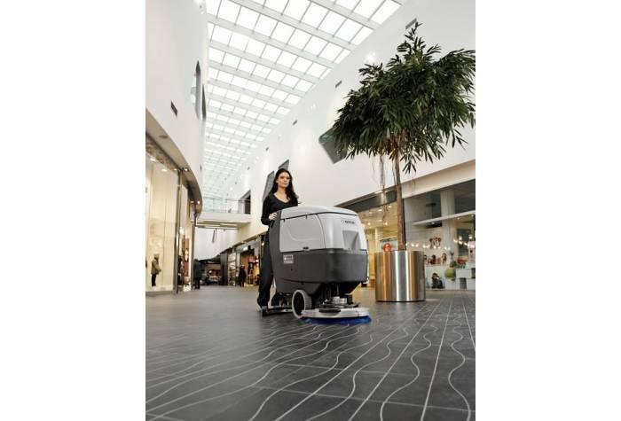 دستگاه اسکرابر BA451D یک زمین شوی کارآمد برای شستشوی محیط های تجاری