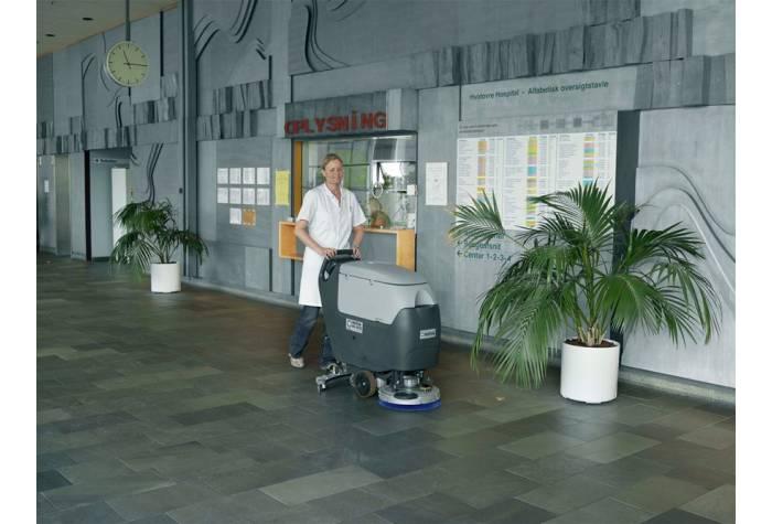کاربرد دستگاه اسکرابر BA 531 D در بیمارستان بعنوان کف شوی کارآمد