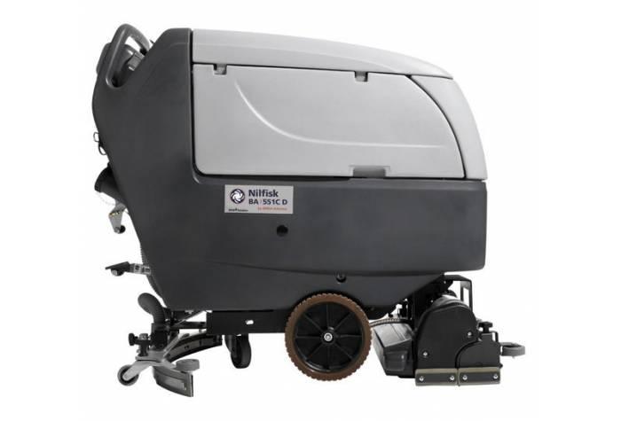 نمای جانبی دستگاه اسکرابر BA551CD