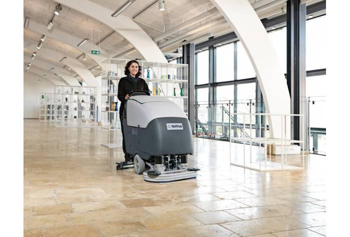کاربرد دستگاه اسکرابر BA851 بعنوان یک  کفشور قدرتمند در فروشگاه