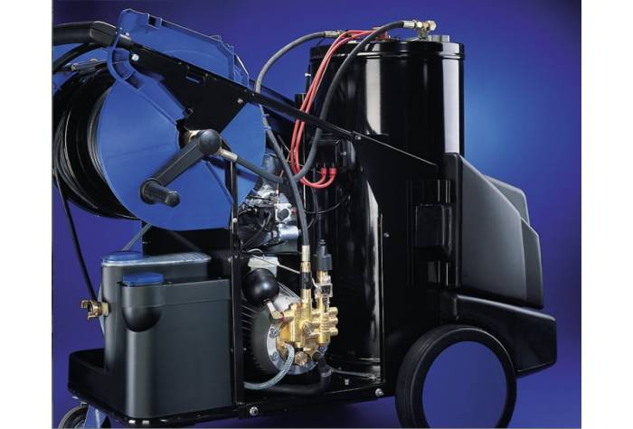 واترجت صنعتی MH 7P و شستشوی انواع سطوح