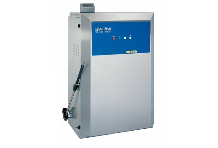 واترجت صنعتی SH TRUCK 5M-180/970 و شستشوی انواع سطوح