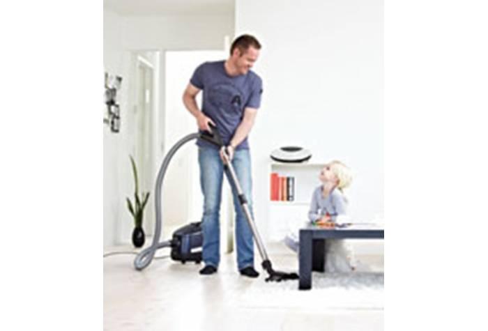 جاروبرقی خانگی قدرت مکش بسیاری داارد که سبب کیفیت در نظافت در سطح عالی می شود