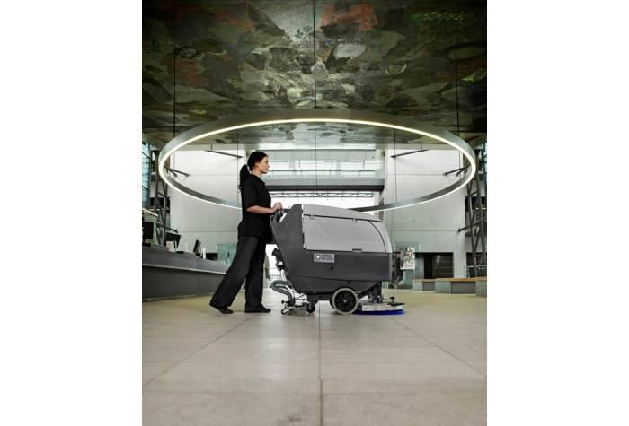 دستگاه اسکرابر BA 551 بعنوان کفشور کارآمد