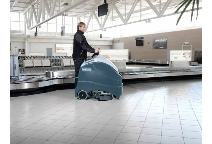 کاربرد دستگاه اسکرابر SC1500 بعنوان کف شوی کارآمد در فرودگاه