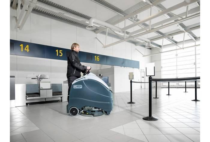 کاربرد دستگاه اسکرابر SC1500 بعنوان یک زمین شوی کارآمد در فرودگاه