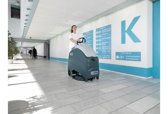 کاربرد دستگاه اسکرابر SC1500 بعنوان کفشور کم صدا در بیمارستان