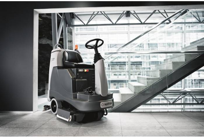 دستگاه اسکرابر BR855  مناسب برای هر نوع سطح