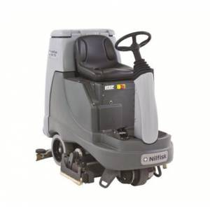 زمین شوی برقی  - ride-on-scrubber-dryer-BR855 - BR855