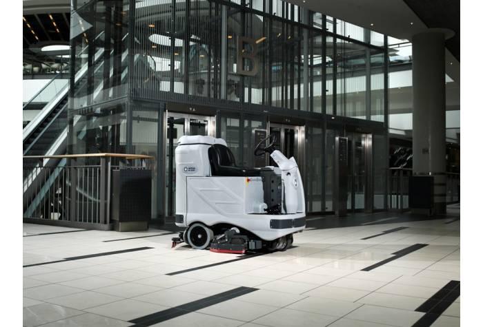 دستگاه اسکرابر SC1050S بعنوان یک زمین شوی کارآمد در مراکز تجاری