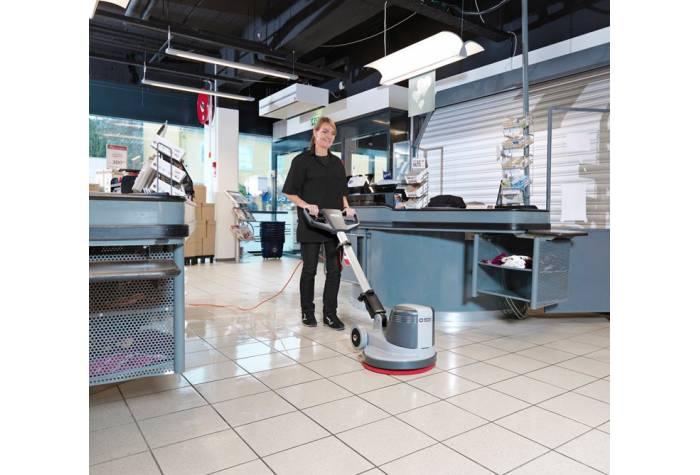 کاربرد دستگاه پولیشر FM400 D بعلت برخورداری از ابعاد مناسب و عملکرد عالی در فروشگاه ها