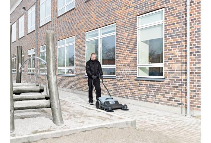 سوییپر SM800 یک ابزار نظافت صنعتی کارآمد برای نظافت مدارس