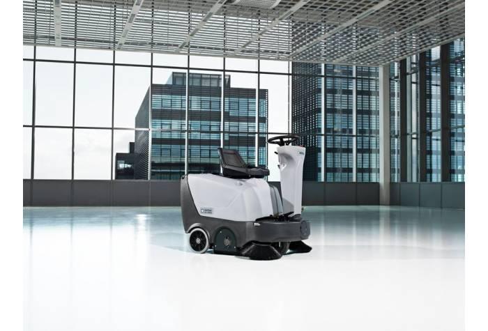 دستگاه سوییپر SR1000S P قابل کاربرد در مراکز تجاری و صنعتی