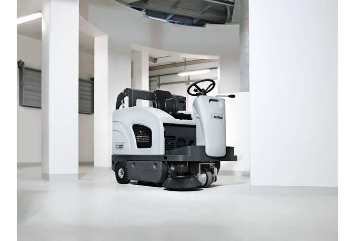 امکان کاربرد سوییپر SW4000 LPG در فضای داخلی بعنوان دستگاه نظافت صنعتی کارآمد