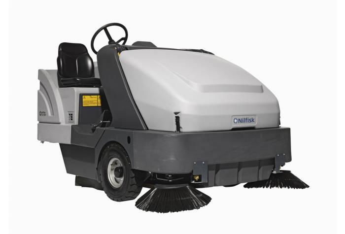 سوییپر SR 1601 D یک ابزار نظافت صنعتی حرفه ای برای کاربرد در محیط های صنعتی