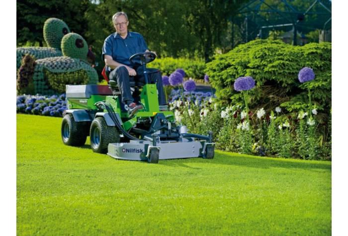 سوییپر mulch and rotary mower یک دستگاه کارآمد برای کوتاه کردن و پیرایش چمن