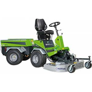 جاروب خیابانی  - Street-sweeper-mulch-and-rotary-mower-park-ranger-2150 - mulch-and-rotary-mower