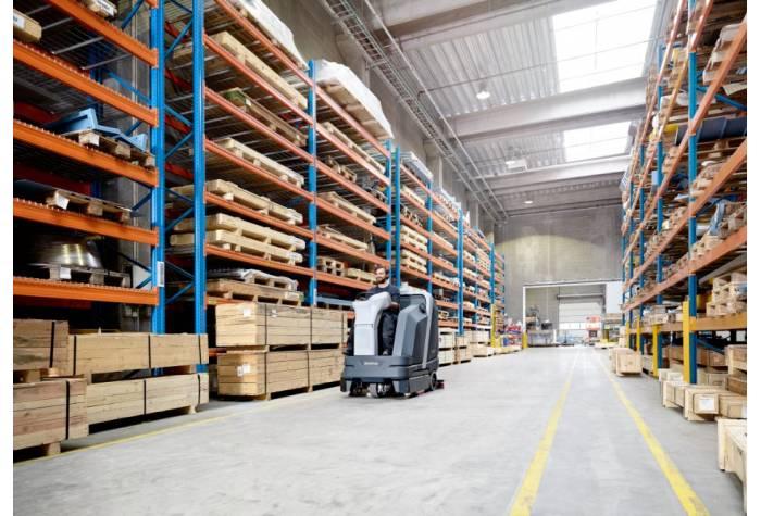 کاربرد دستگاه اسکرابر SC6000 1050D در انبار های صنعتی